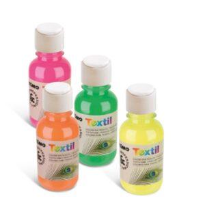 Textilfarben Fluo 125 ml